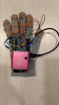 Перчатка-тренажер для абилитации после инсульта